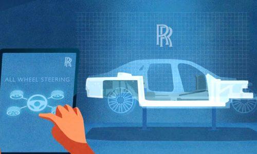 2021 Rolls-Royce Ghost: AWD, All-Wheel Steering confirmed (video)