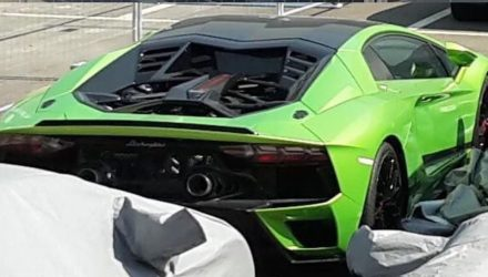 What's this mysterious Lamborghini? Aventador EVO, Aventador replacement?