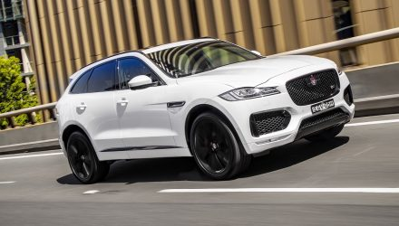 2021 Jaguar F-PACE S to get inline-6 'P400', 'D350' engines