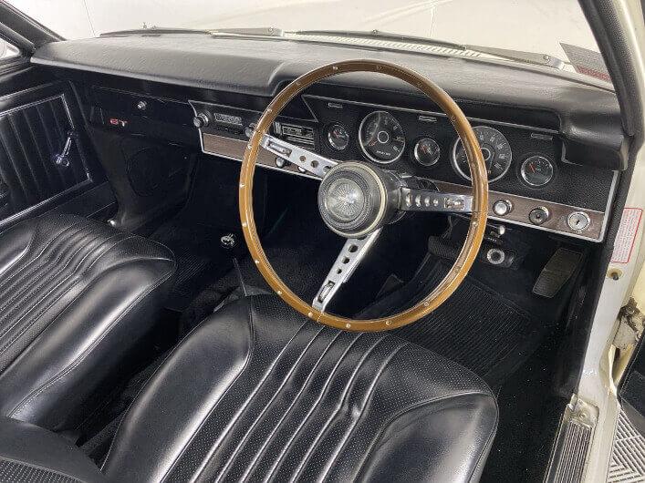 1969 Ford XT Falcon GT Interior