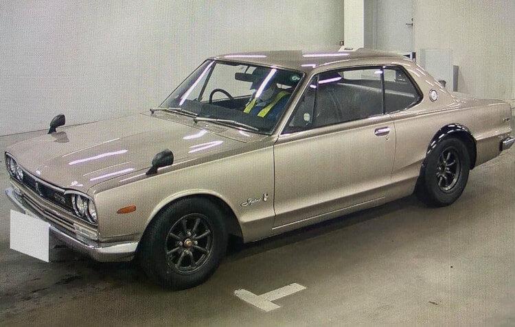 1971 Nissan Skyline GT-R Hakosuka-Nippon2U