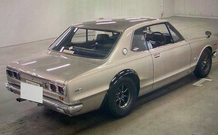 1971 Nissan Skyline GT-R Hakosuka-rear