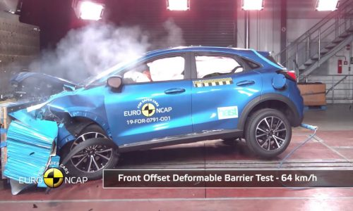 2020 Ford Puma scores 5-star ANCAP safety rating (video)