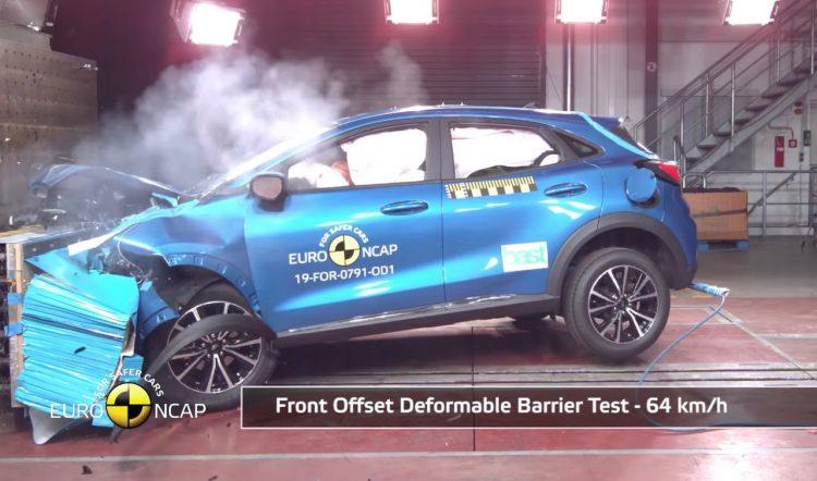 La Ford Puma 2020 obtient la cote de sécurité 5 étoiles ANCAP (vidéo)  - Euro 2020