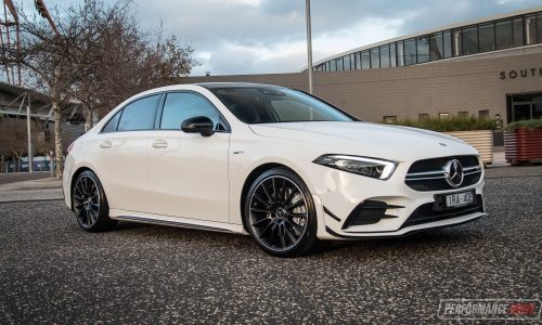 2020 Mercedes-AMG A 35 Sedan review (video)