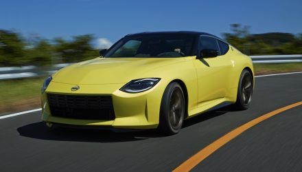 Nissan Z Proto revealed with twin-turbo V6, manual transmission