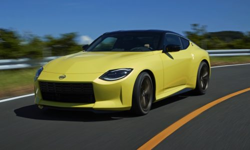 Nissan Z Proto revealed with twin-turbo V6, manual transmission