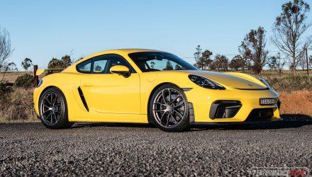 2020 Porsche 718 Cayman GT4 review (video)