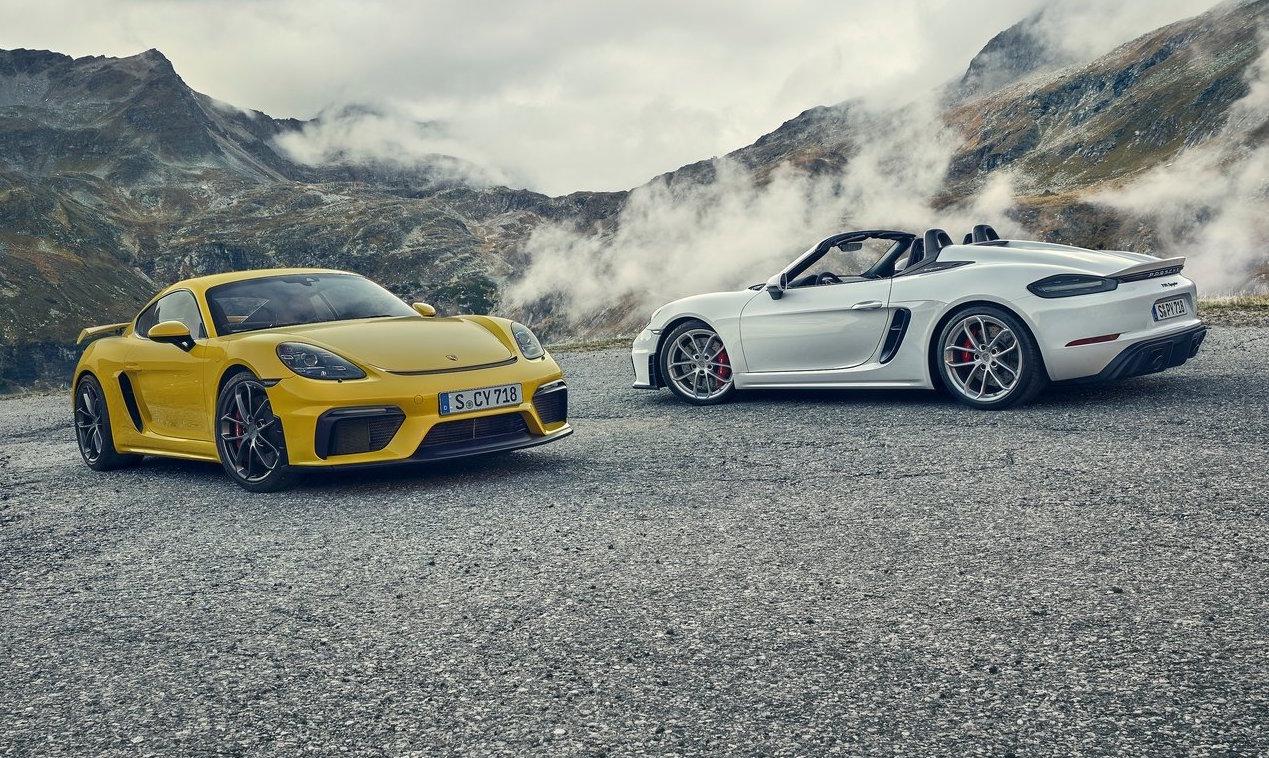 2021 Porsche 718 Boxster Cayman Gts Gt4 Get Pdk Auto Option Performancedrive
