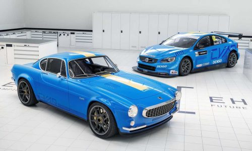 Volvo P1800 Cyan project is the ultimate modern classic