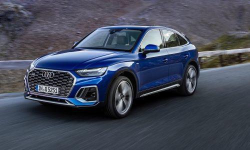 Audi unveils Q5 Sportback coupe-style mid-size SUV