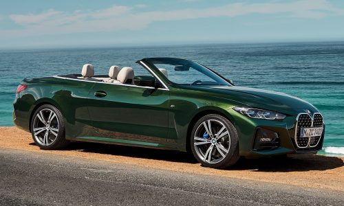 New BMW 4 Series convertible revealed, in Australia Q1 2021