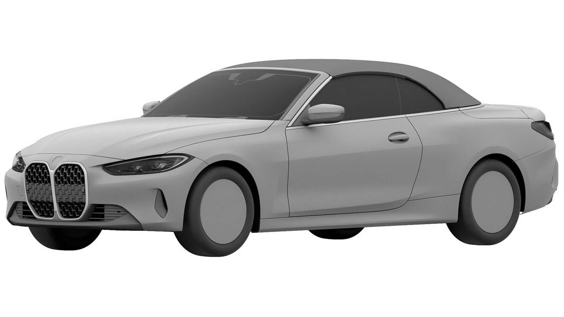 2021 Bmw 4 Series Convertible Patent Images Surface Performancedrive