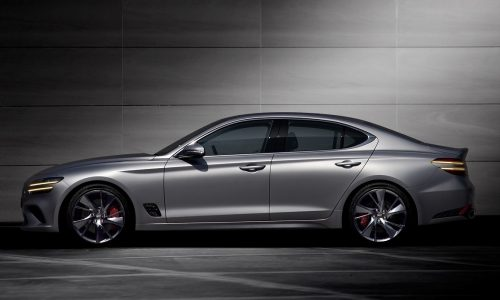 2021 Genesis G70 revealed with updated design and tech