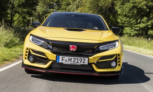 Honda Civic Type R Limited Edition to be sold via lottery draw