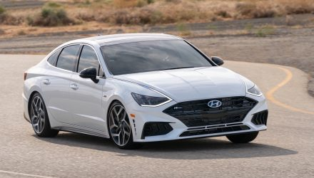 2021 Hyundai Sonata N Line shows off its striking design