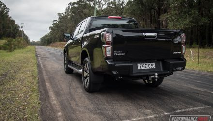 2021 Isuzu D-Max does 0-100km/h in under 10 seconds (video)