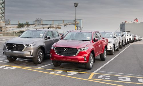 First 2021 Mazda BT-50 examples land in Australia