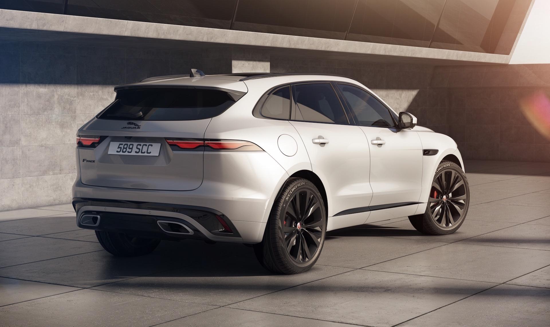 2021 Jaguar F-PACE revealed, 3.0L inline-6 engines ...
