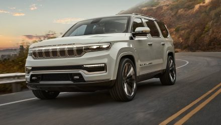 Jeep unveils mammoth Grand Wagoneer concept, 2021 production confirmed