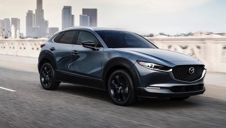 2021 Mazda CX-30 Turbo announced with 2.5T AWD