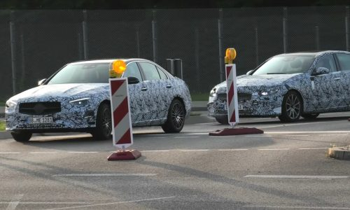 2021 Mercedes-Benz C-Class 'W206' prototypes spotted (video)