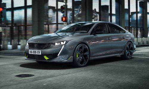 Stunning Peugeot 508 Sport Engineered plug-in hybrid revealed