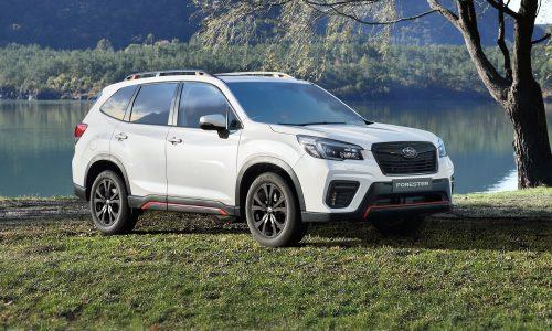 2021 Subaru Forester update adds 2.5i Sport variant