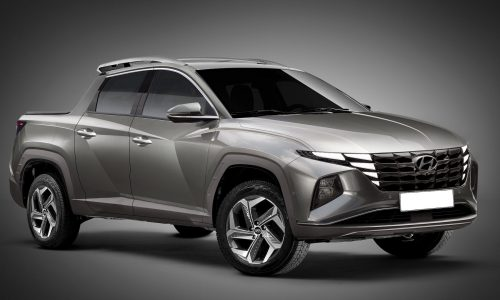 Hyundai Santa Cruz pickup rendered, based on new Tucson NX4