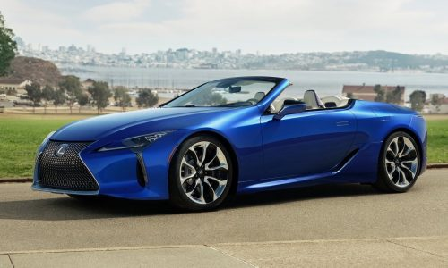 Lexus Australia debuts LC convertible with limited edition