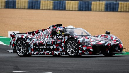 Toyota GR Super Sport prototype debuts at Le Mans (video)