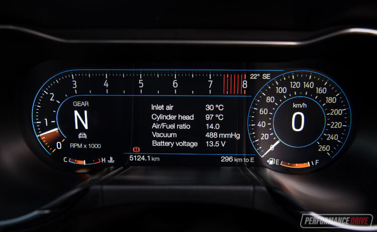 2020 Ford Mustang R-SPEC-instrument cluster