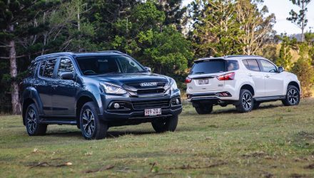 2020 Isuzu MU-X ONYX special edition on sale in Australia