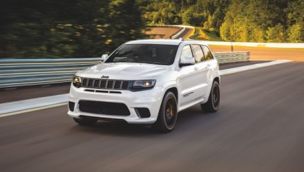 2020 Jeep Grand Cherokee Trackhawk now on sale in Australia