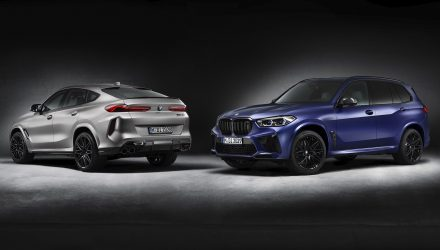 2021 BMW X5 and X6 M Competition First Edition