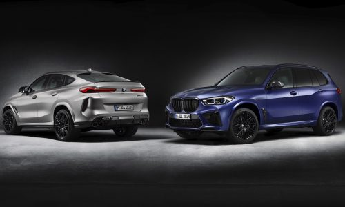 BMW announces 'First Edition' X5 M Competition & X6 M Competition