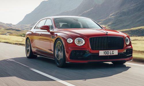 Bentley introduces 2021 Flying Spur V8, 100kg lighter than W12