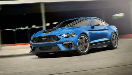 2021 Ford Mustang Mach 1 priced from $83,365 in Australia