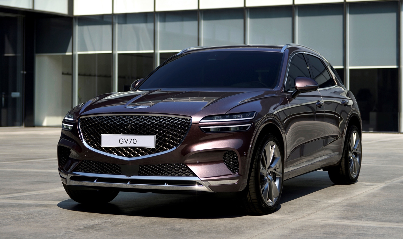 2021 Genesis GV70 mid-size SUV revealed, confirmed for ...