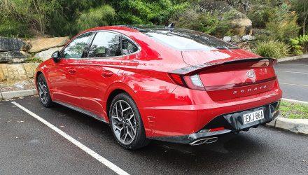 New Hyundai Sonata N Line spotted testing in Australia