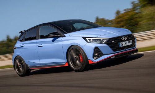 All-new 2021 Hyundai i20 N hot hatch revealed
