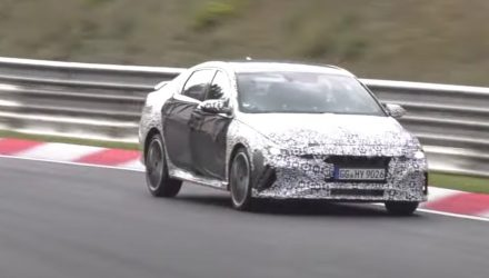 2021 Hyundai i30 N sedan (Elantra N) spotted: Video