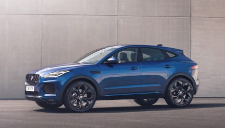 2021 Jaguar E-PACE revealed, new '300 Sport' flagship