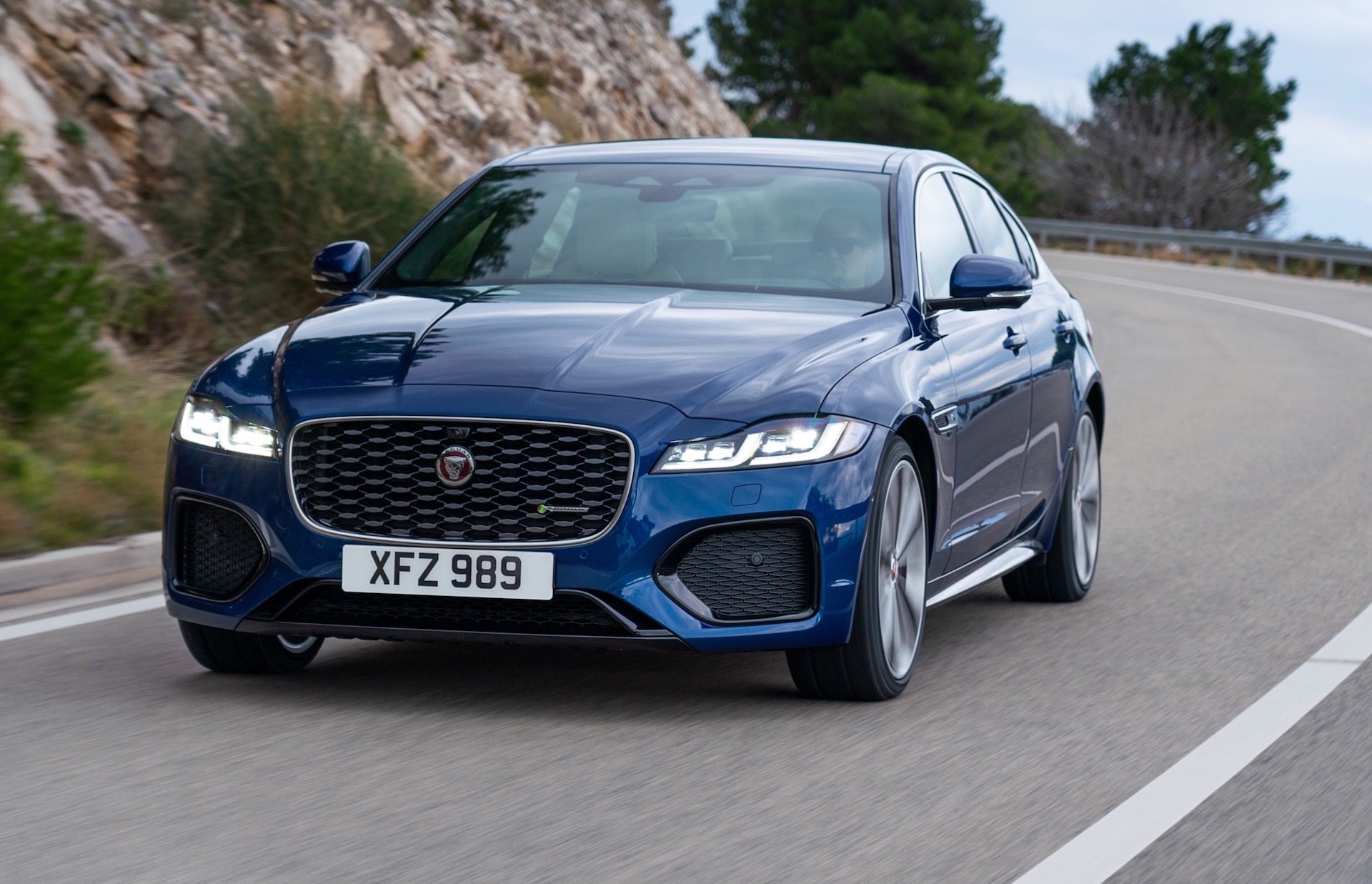 2021 jaguar xf update announced awd p300 confirmed for