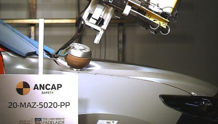 2021 Mazda BT-50 ANCAP pedestrian safety test-2