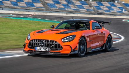 Mercedes-AMG GT Black Series announced for Australia