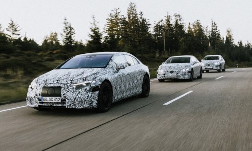 Mercedes-Benz confirms EQS, EQE, EQA electric vehicles