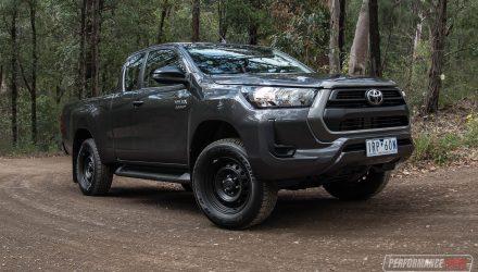 2021 Toyota HiLux SR Hi-Rider 4x2 review (video)