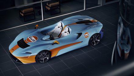 MSO creates bespoke Gulf Racing McLaren Elva
