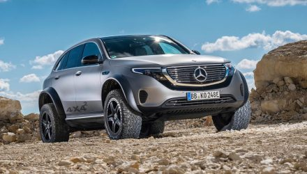 Mercedes-Benz EQC 4x4² concept shows hardcore off-road potential